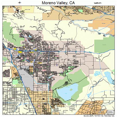 moreno valley california map moreno valley california map 0649270
