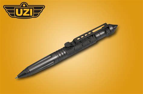 tatical pens a closer look at the uzi tactical pen gear patriot