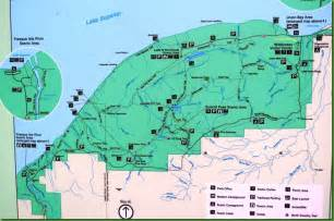 Presque Isle State Park Map by In The Direction Of Our Dreams Presque Isle River And Its