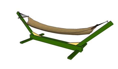 Make A Hammock How To Build A Hammock Stand