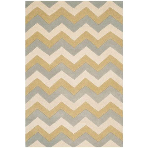 safavieh chatham gray gold 2 ft x 3 ft area rug cht715m