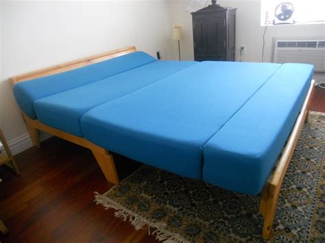 queen size futon frame and mattress futon frame queen size
