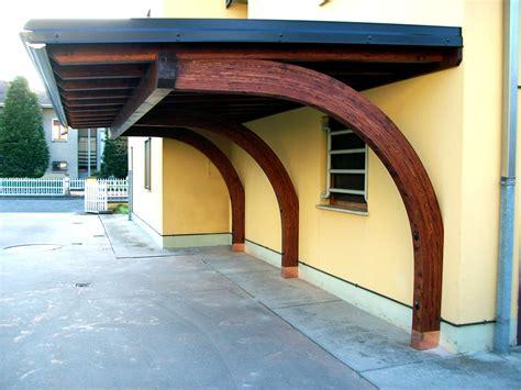 tettoie a sbalzo portico a sbalzo tettoia in legno