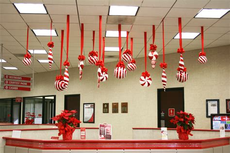 christmas l post decoration ideas decoration hanging decoration ideas inspiring office
