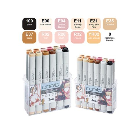 Sale Copic Sketch Plastic For 12 Pcs copic markers 12 cool gray set 187 бизнес журнал