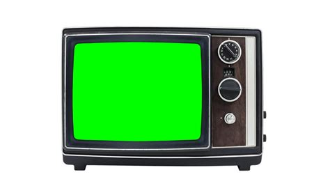 green tv old tv with a green screen in the room 3d animation stock footage video 3534197 shutterstock