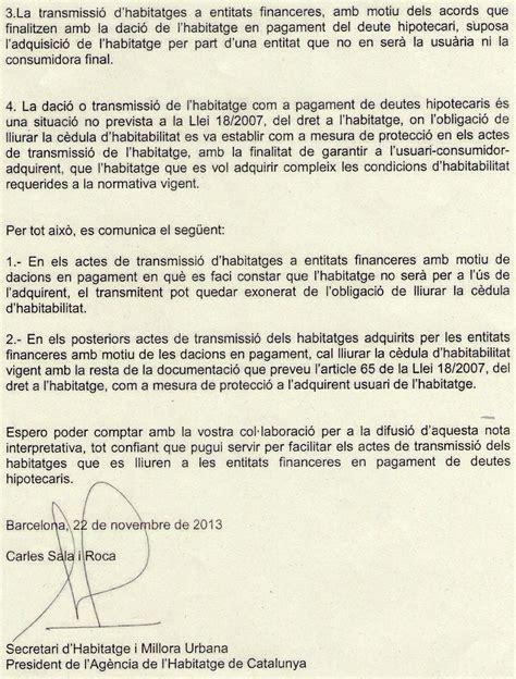carta que haga constar algo notahabitatgecedules 2