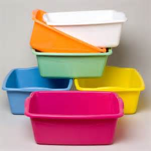 bulk by color wholesale dish pan rectangular 6 colors sku 346418