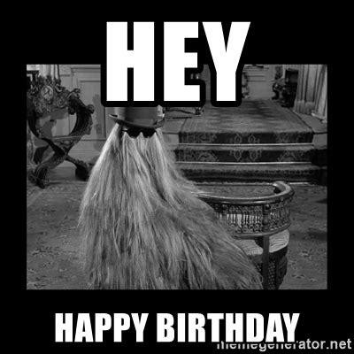 Happy Birthday Cousin Meme - hey happy birthday cousin it meme generator