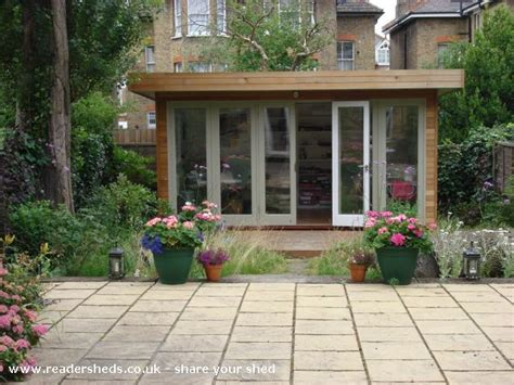 Streatham Sheds by Judith S Garden Office Workshop Studio From Garden In Streatham Hill Owned By Judith