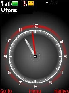mobile themes clock download nice clock nokia theme mobile toones