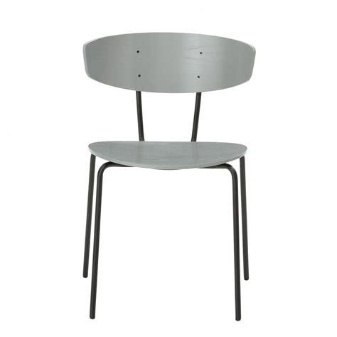 chaise gris chaise herman gris ferm living chez colonel shop