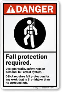 Design A Kitchen Free Online fall protection signs fall protection required signs