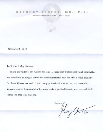 Endorsement Letter To Whom It May Concern Letter07 Dr Tony Willcox D O M A P 561 274 4447 Acupuncture Zen