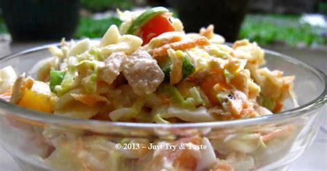 Pasta P Dan W Spandek salad pasta sayuran dan tuna just try taste