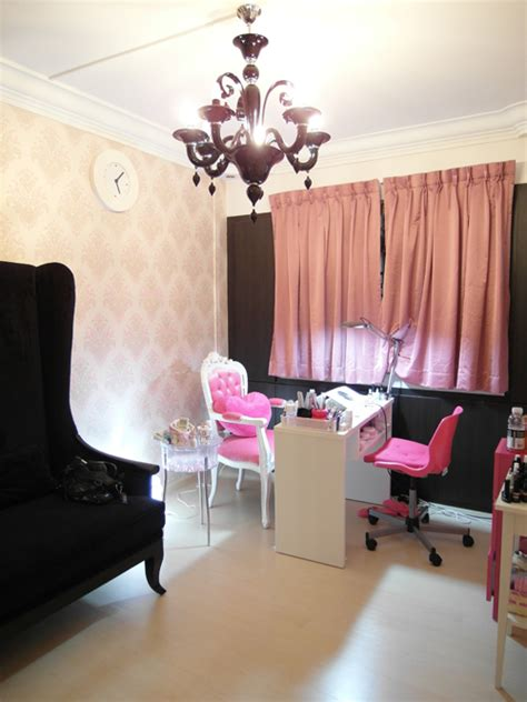 home salon decor nail salon nira chan