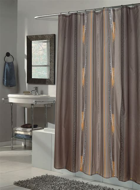 large shower curtains carnation home fashions inc extra long fabric shower