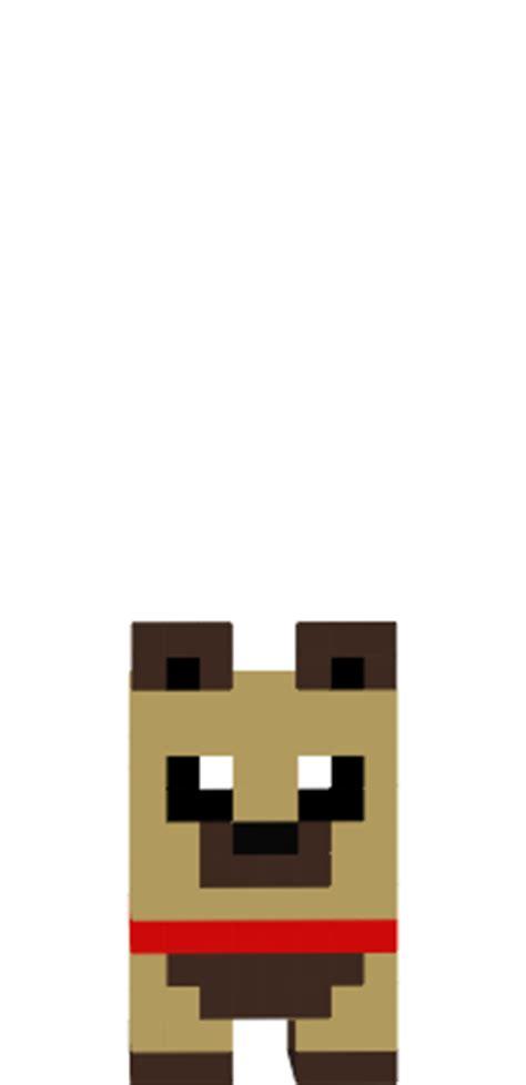 minecraft puppy skins embed html