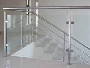stainless steel handrail glass balustrade stainless steel and glass balustrade