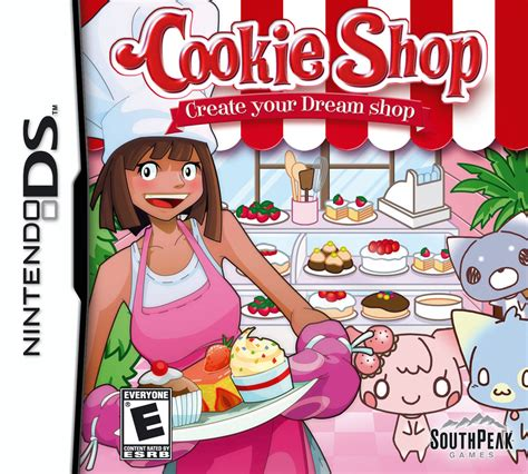 design your dream store cookie shop nintendo ds ign