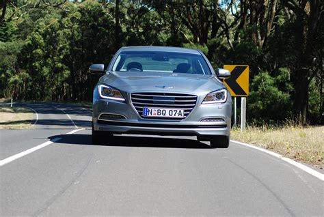 2015 hyundai genesis review review 2015 hyundai genesis review and road test