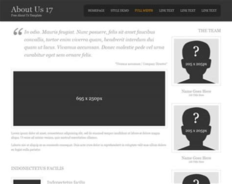 About Us 20 About Us Templates Os Templates About Page Template