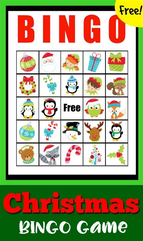 free printable christmas games to play at home christmas bingo game totschooling toddler preschool