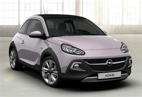 opel pink opel adam rocks 2018 couleurs colors