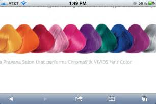 pravana hair color chart pravana vivids hair color chart