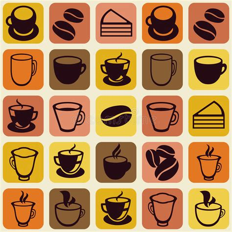 coffee shop background pattern royalty free vector image vector seamless pattern with tea and coffee cups royalty