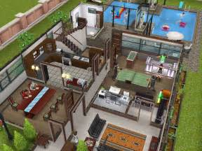 Sims Freeplay House Floor Plans sims freeplay house plans escortsea