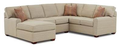 chaise lounge sectional sectional sofa with left facing chaise lounge by klaussner