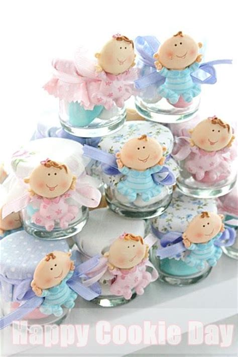 Polymer Clay Baby Shower Favors by Pin By Dagnne Torres On Baby Shower Frascos