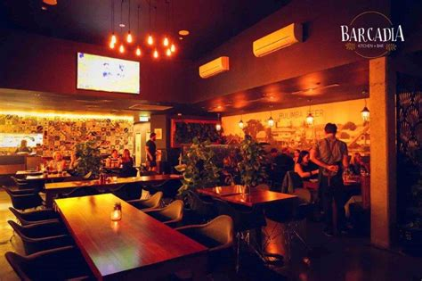 barcadia kitchen bar good restaurants hidden city