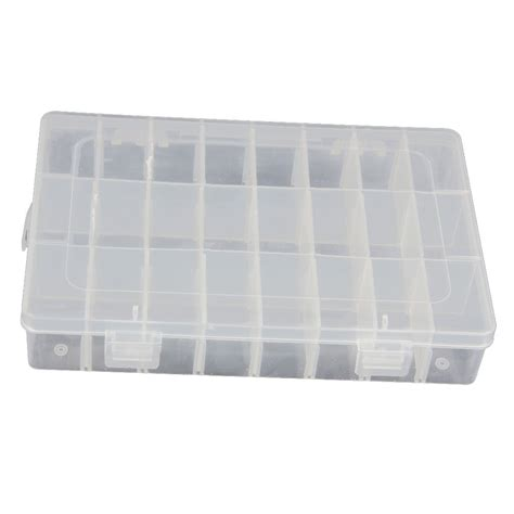bead organizer storage containers 15 24 36 grid clear adjustable jewelry bead organizer box
