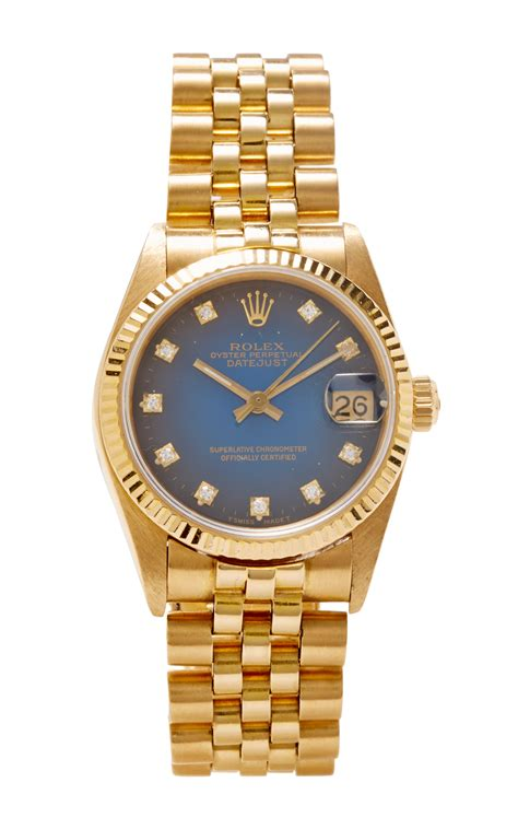 Rolex Oyster Perpetual Gold cmt and jewelry advisors vintage 18k gold rolex