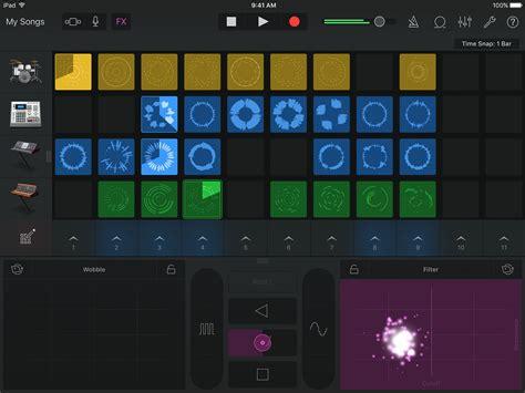 Garageband Edm Garageband 2 1 For Ios Brings Live Loops Drummer Edm