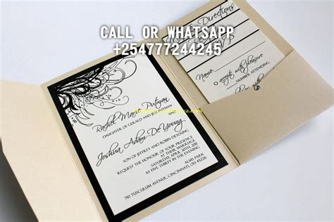 wedding invitation cards designs in kenya kenya wedding photographer videographer wedding cards visualdo weddings