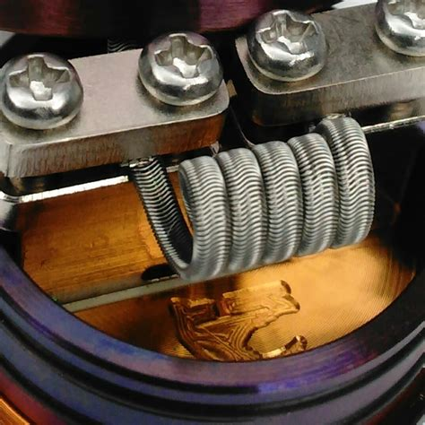 handmade coils by vapedaddy coilz pair