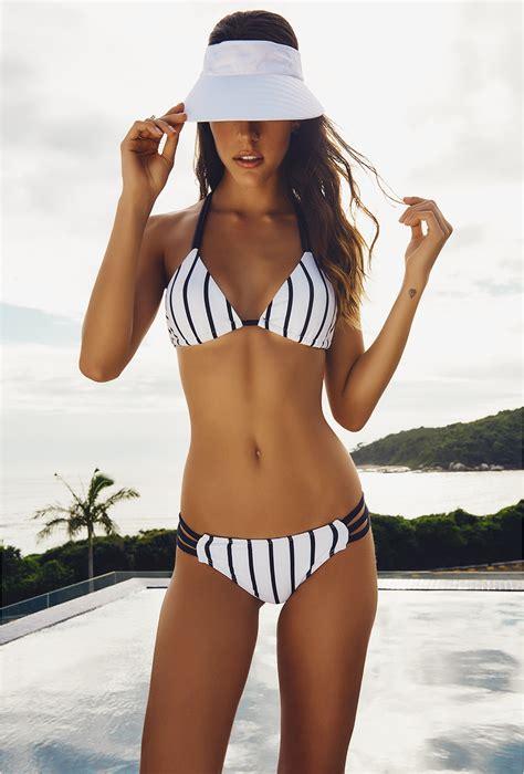 Larissa Kaftan Black larissa minatto multi black white striped aruba