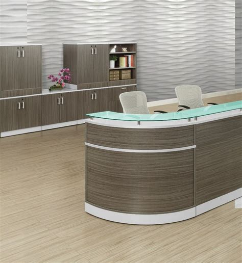 Esquire Glass Top Reception Desk 754 Best Waiting Room Inspiration Images On