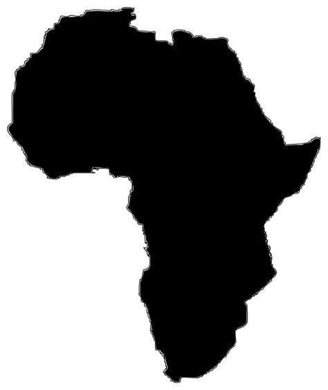 africa map clipart africa clipart clipart suggest