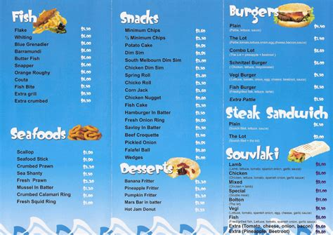fish and chip shop menu template eltham fish and chips menu bolton fish shop bolton fish