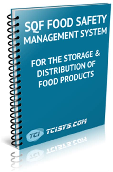 Sqf Code Storage Distribution Safety Quality Management System Sqf Food Quality Plan Template