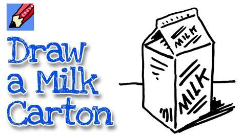 How To Draw Milk