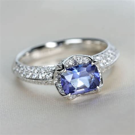 benitoite engagement ring benitoite engagement ring gem gems gemstone buy gems