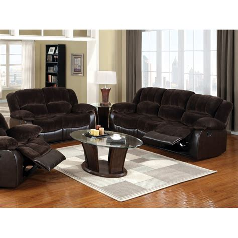 2 piece sofa set furniture of america briggs 2 piece sofa set in brown