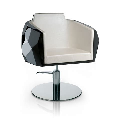 White Salon Chairs Crystalcoiff Styling Salon Chairs Gamma Amp Bross
