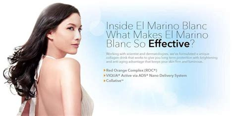 El Marino Collagen el marino blanc