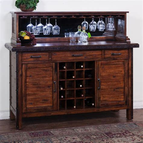 furniture mirrored buffet sideboard with wine rack rustic server with wine rack mirrored hutch my house